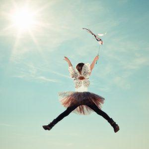 Happy Fairy Child